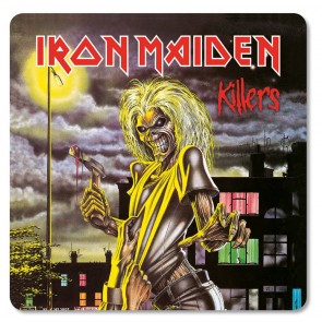 Iron Maiden Untersetzer Pack Killers (6)