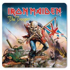 Iron Maiden Untersetzer Pack The Trooper (6)