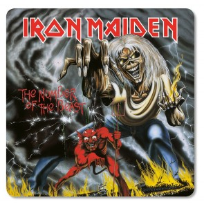 Iron Maiden Untersetzer Pack The Number of the Beast (6)