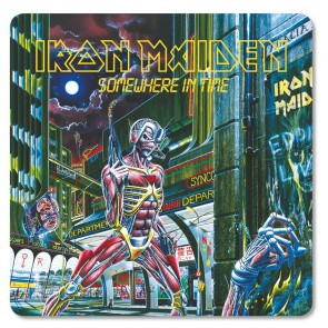 Iron Maiden Untersetzer Pack Somewhere in Time (6)