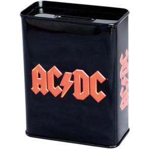 AC/DC Metall Spardose Logo