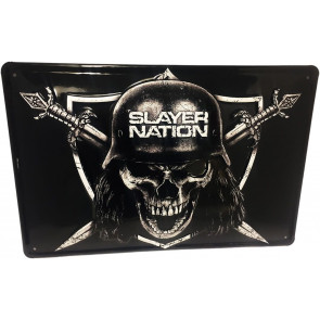 Slayer Blechschild Slayer Nation 20 x 30 cm