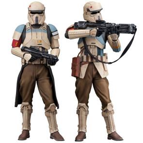 Star Wars Rogue One ARTFX+ Statuen-Doppelpack Scarif Stormtrooper 18 cm