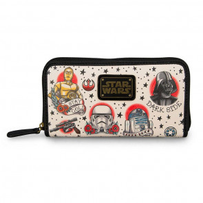 Star Wars by Loungefly Geldbeutel Tattoo Flash Print