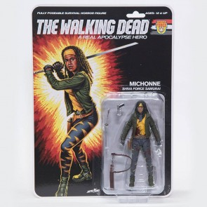 The Walking Dead Actionfigur Shiva Force Samurai Michonne (Bloody) 13 cm