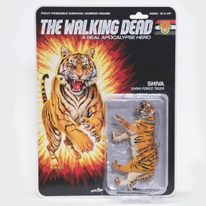 The Walking Dead Actionfigur Shiva Force Tiger Shiva (Bloody) 13 cm