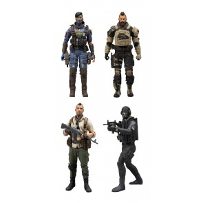 Call of Duty Black Ops 4 Actionfiguren Set 18 cm + Ingame Bonus Code