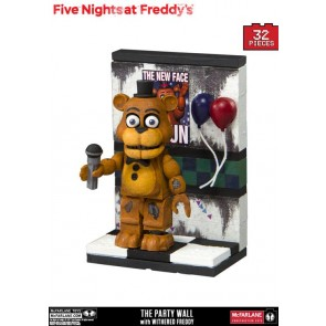 Five Nights at Freddy´s Micro Bauset The Party Wall