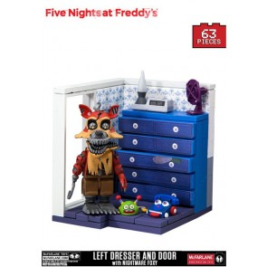 Five Nights at Freddy´s Small Bauset Left Dresser and Door