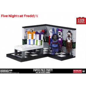 Five Nights at Freddy´s Small Bauset Paper Pals Party