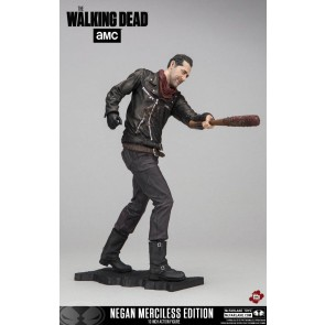 The Walking Dead TV Version Deluxe Actionfigur Negan Merciless Edition 25 cm