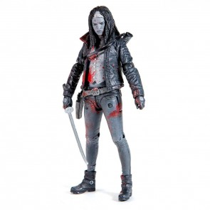 The Walking Dead Actionfigur Michonne (Bloody B&W) 15 cm