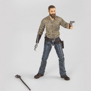 The Walking Dead Actionfigur Rick (Color) 15 cm