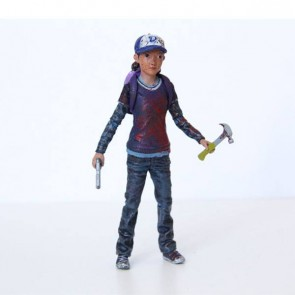 The Walking Dead Actionfigur Clementine (Bloody) 9 cm