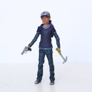 The Walking Dead Actionfigur Clementine (Color) 9 cm
