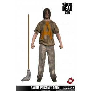 The Walking Dead TV Version Actionfigur Savior Prisoner Daryl 18 cm