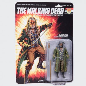 The Walking Dead Actionfigur Shiva Force Sensei Ezekiel (Color) 13 cm