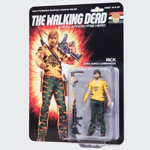 The Walking Dead Actionfigur Shiva Force Commander Rick (Color) 13 cm