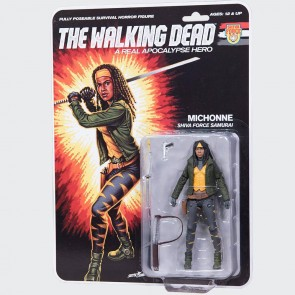 The Walking Dead Actionfigur Shiva Force Samurai Michonne (Color) 13 cm