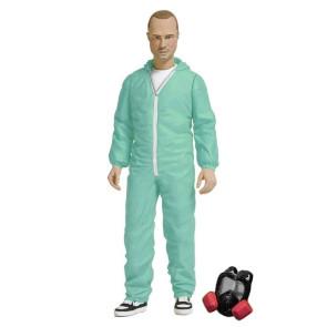 Breaking Bad Jesse Pinkman Actionfigur Blue Hazmat Suit Exclusive 15 cm