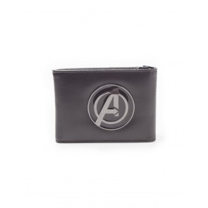 Avengers Geldbeutel Metal Logo