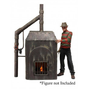 Nightmare on Elm Street Diorama Freddy's Ofen 23 cm