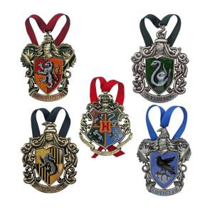 Harry Potter Christbaumschmuck 5er-Pack Hogwarts