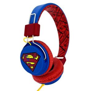 Superman Teen Kopfhörer Vintage Logo
