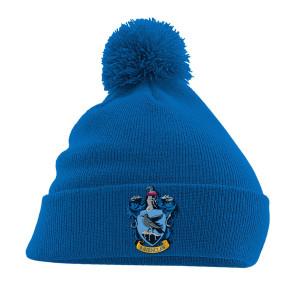 Harry Potter Pom Pom Beanie Ravenclaw Crest Blau