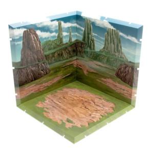 Dioramansion 150 Zubehör-Set für Nendoroid und Figma Actionfiguren Wasteland