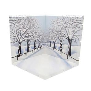 Dioramansion 150 Zubehör-Set für Nendoroid und Figma Actionfiguren Cherry Blossom Road (Winter)