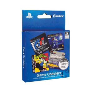 PlayStation Untersetzer 4er-Pack Game Cover
