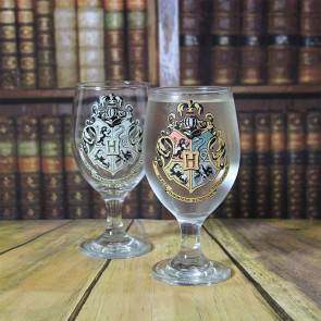 Harry Potter Hogwarts Glas mit Farbwechseleffekt