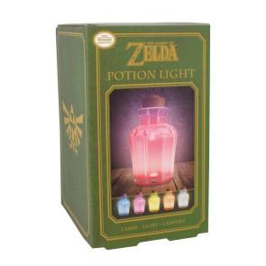 Legend of Zelda Lampe Potion Jar Leuchte