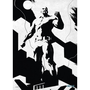 Marvel Comics Metall-Poster The Defenders Power Man 32 x 45 cm