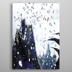 DC Comics Metall-Poster Batman Light Absorption Bat Master 10 x 14 cm