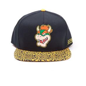 Nintendo Hip Hop Cap Snapback Bowser Rubber Patch