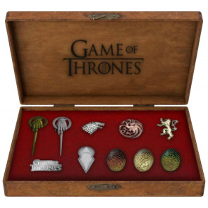 Game of Thrones 10er-Pack Icons Deluxe Ansteck-Pins