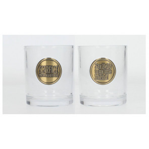Scarface Logo Whisky Gläser 2er-Pack
