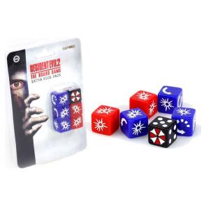 Resident Evil 6er-Pack Würfel für Brettspiel