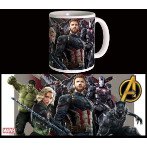 Avengers Infinity War Tasse Wakanda Battle