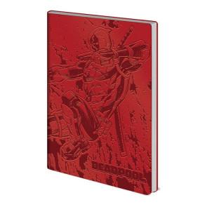 Deadpool Flexi-Cover Notizbuch A5 Action