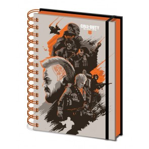Call of Duty Black Ops 4 Wiro Notizbuch A5