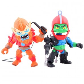 Masters of the Universe Action Figuren Doppelpack Beastman & Trap Jaw SDCC 2016 8 cm