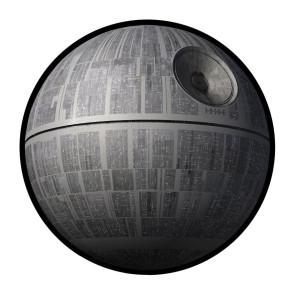Star Wars Picknickdecke Todesstern