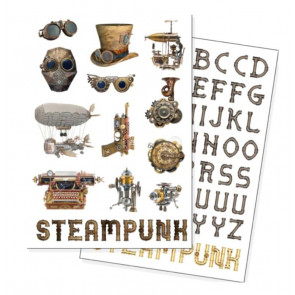 Steampunk Magnete 72er-Pack