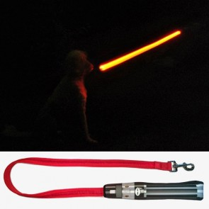Star Wars LED-Hundeleine Darth Vader Lichtschwert