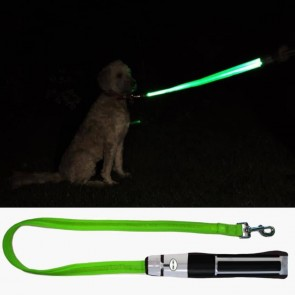 Star Wars LED-Hundeleine Yoda Lichtschwert