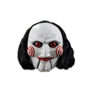 Saw Latex-Maske mit Kunsthaar Billy Puppet