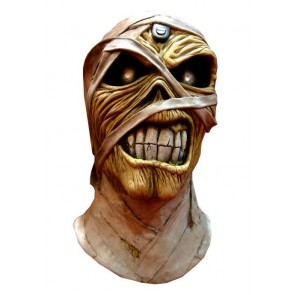 Iron Maiden Latex-Maske Powerslave Mummy